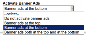 Admob, advertising in apps, banner ad