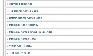 AdMob, ads, advertising in apps